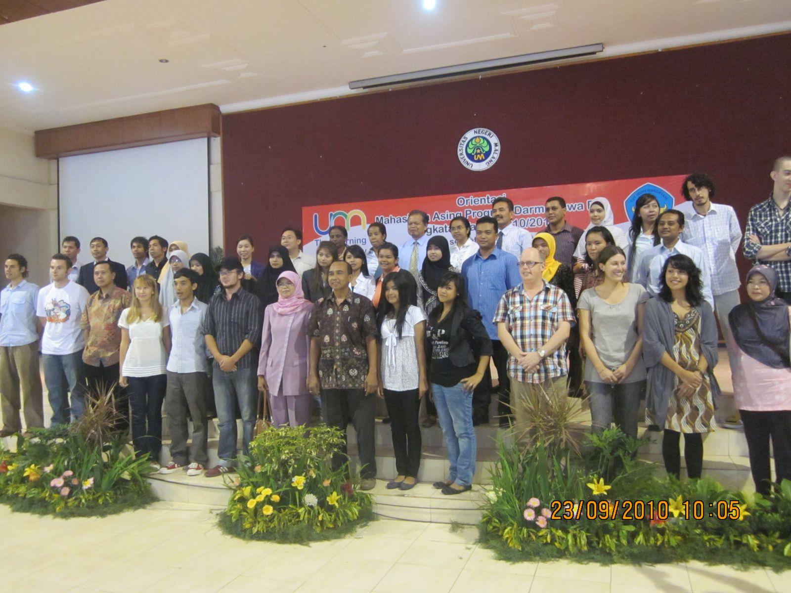 Penerimaan peserta Program Darmasiswa se-Malang Raya